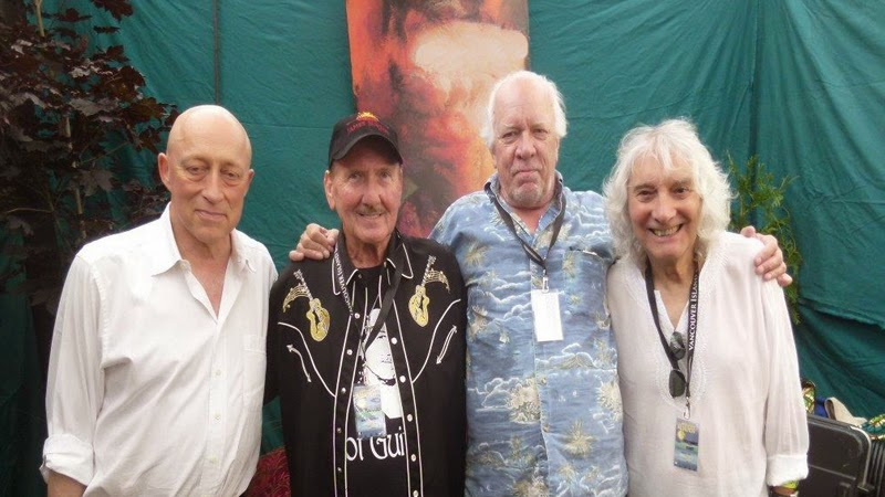 David Wilcox, James Burton, Amos Garrett & Albert Lee