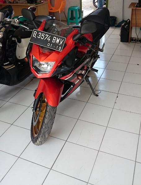 Kredit Motor Ninja 150r Second Brad Erva Doce Info