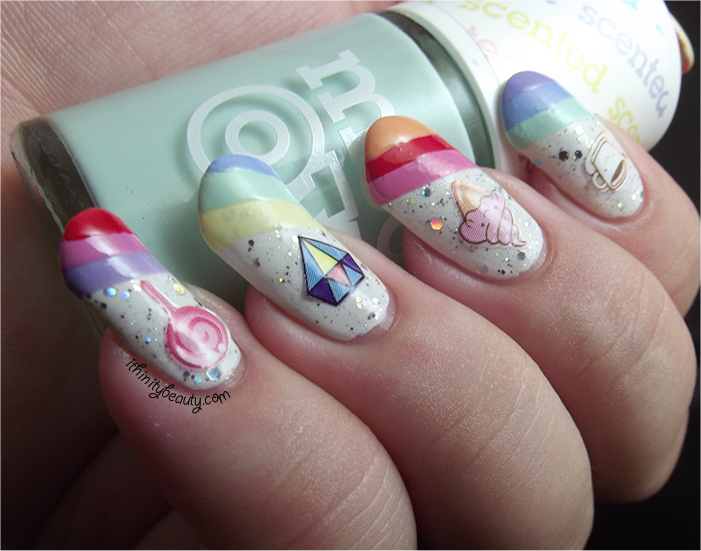Day 9: Rainbows featuring Kawaii Stickers (Born Pretty Store ...