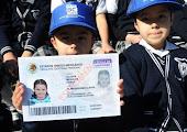Cédula de identidad para menores