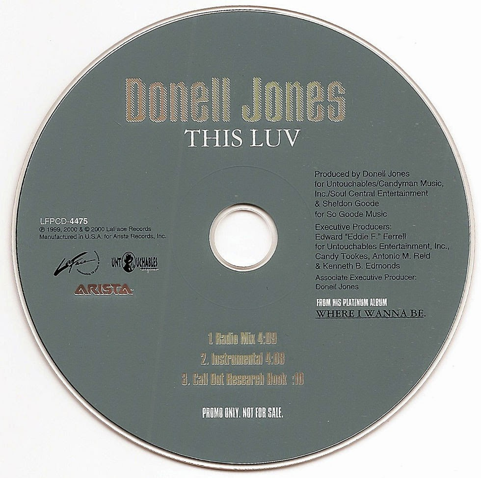 Donell Jones - This Luv (Promo CDS) (2000)