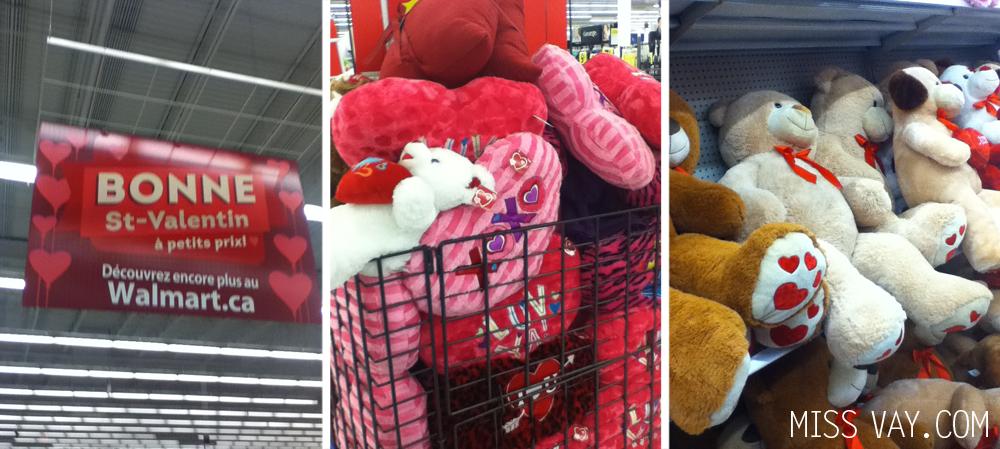 Défi Écono Walmart spécial Saint-Valentin