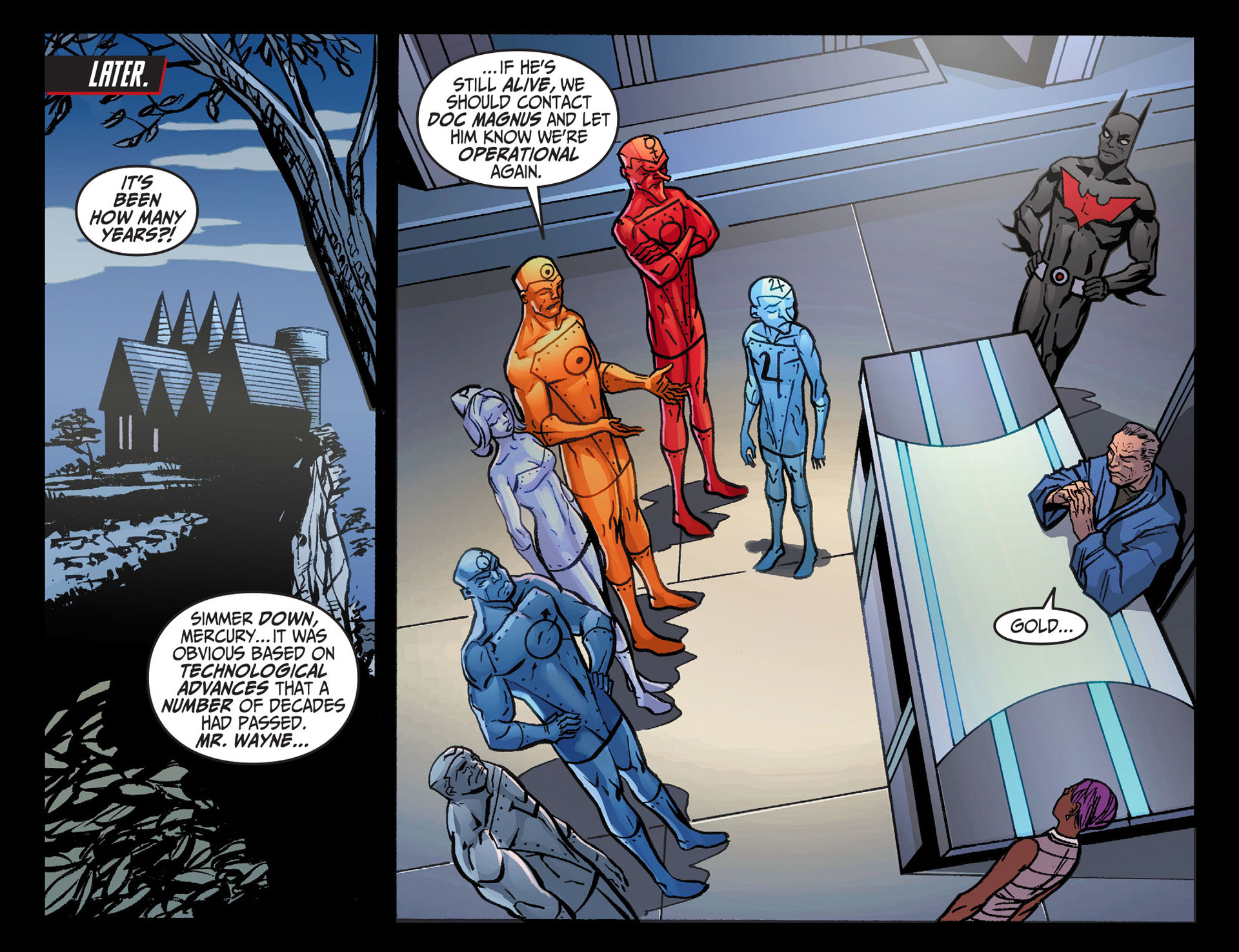 Batman Beyond (2012) Issue #26 #26 - English 11