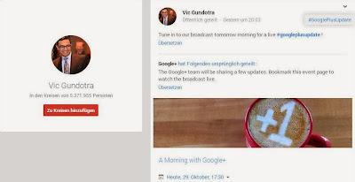 Google+, Google