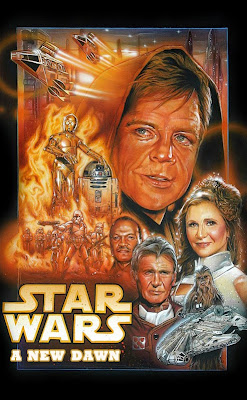 star wars episode 7 a new dawn fan art poster   Datel IT Web design ,creare site,realizare site,magazin online,blog