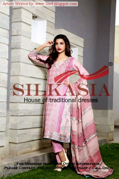 Chiffon and Embroidered Dresses by SILKASIA