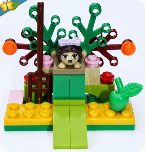 LEGO® Friends Animaux - Série 2 - Le hérisson et sa cachette