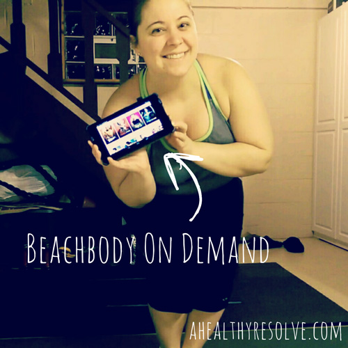 Giving Beachbody On Demand a trial run. So fun, simple and convenient! - www.ahealthyresolve.com