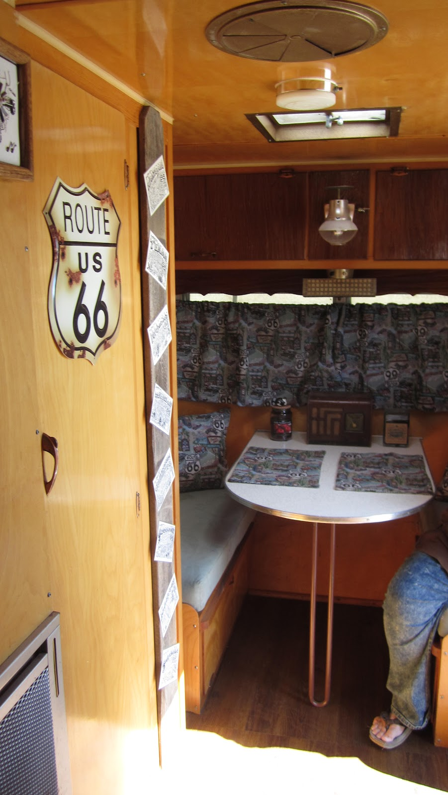 vintage camper checks