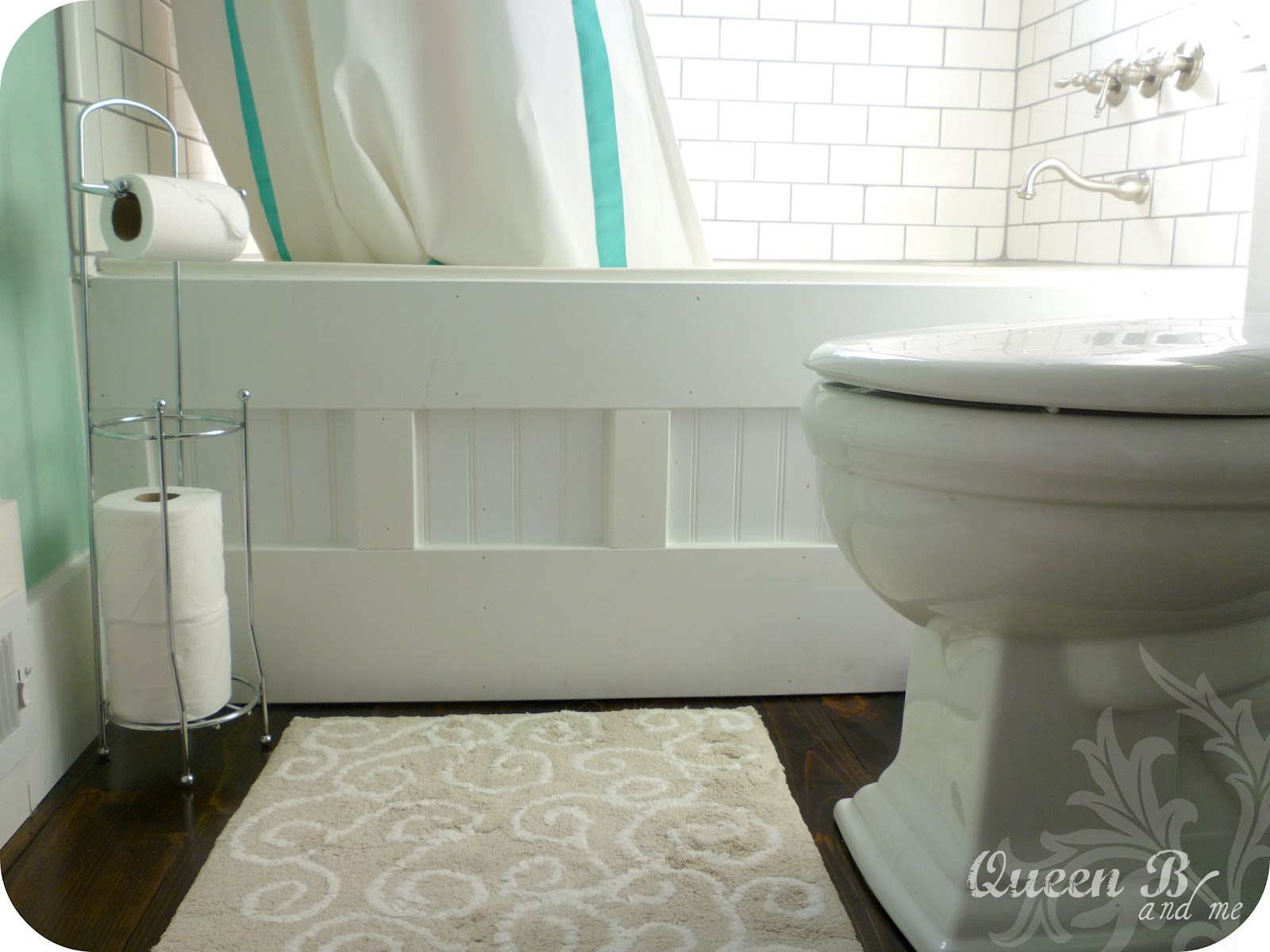 Creative Reader Projects Crafts Recipes Sunday Showcase Party - Bathroom tub makeover