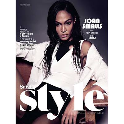 studio W joan smalls diversity sunday style magazine austraia david jones supermodel victorias secret