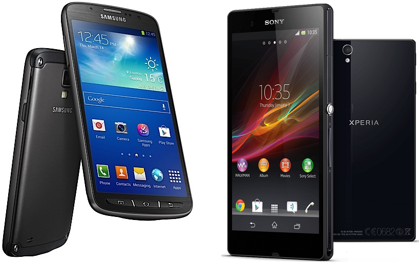 Samsung Galaxy S4 Active vs Sony Xperia Z Specifications ComparisonXperia Z Vs Galaxy S4 Camera