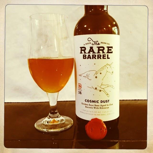NorCal Beer Blog: The Rare Barrel Cosmic Dust - Golden ...