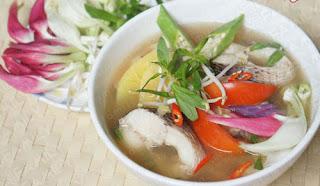 Sour Soup with Snakehead Fish Recipe (Canh Chua Cá Lóc) 4