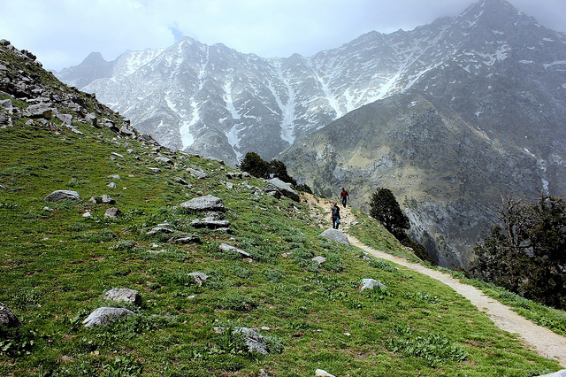 Ilaqa - Indrahaar Pass Trek near McLeodganj