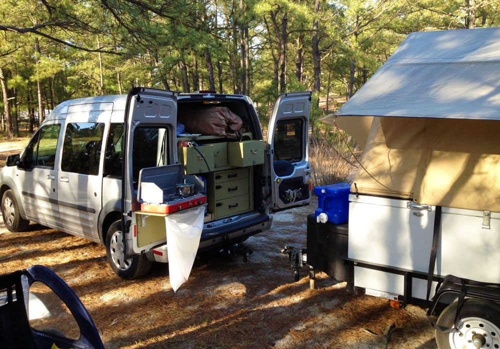 The Ford Transit Connect As A Compact Camper Subcompact Culture