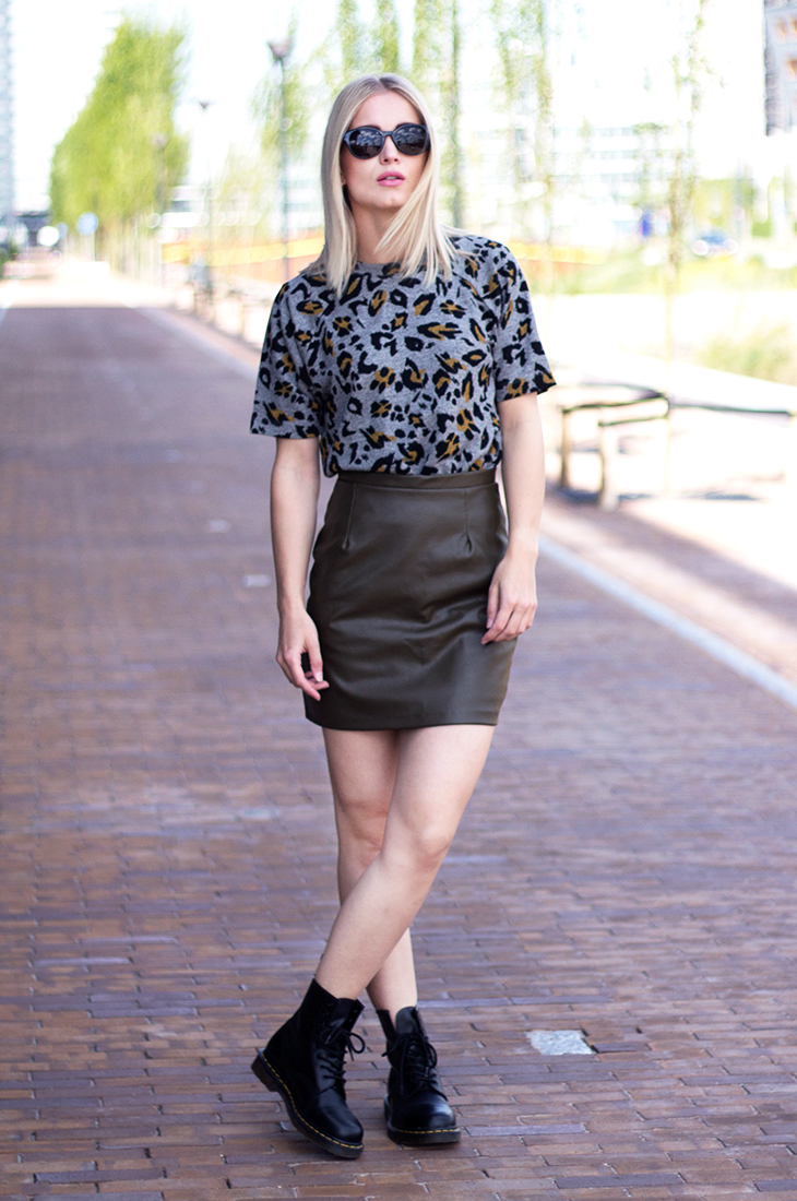 Fashion Attacks outfit ootd A Bold Friday leopard leather