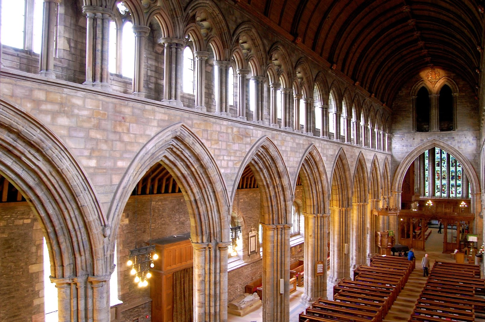 Nave of Dunblane Cathedral