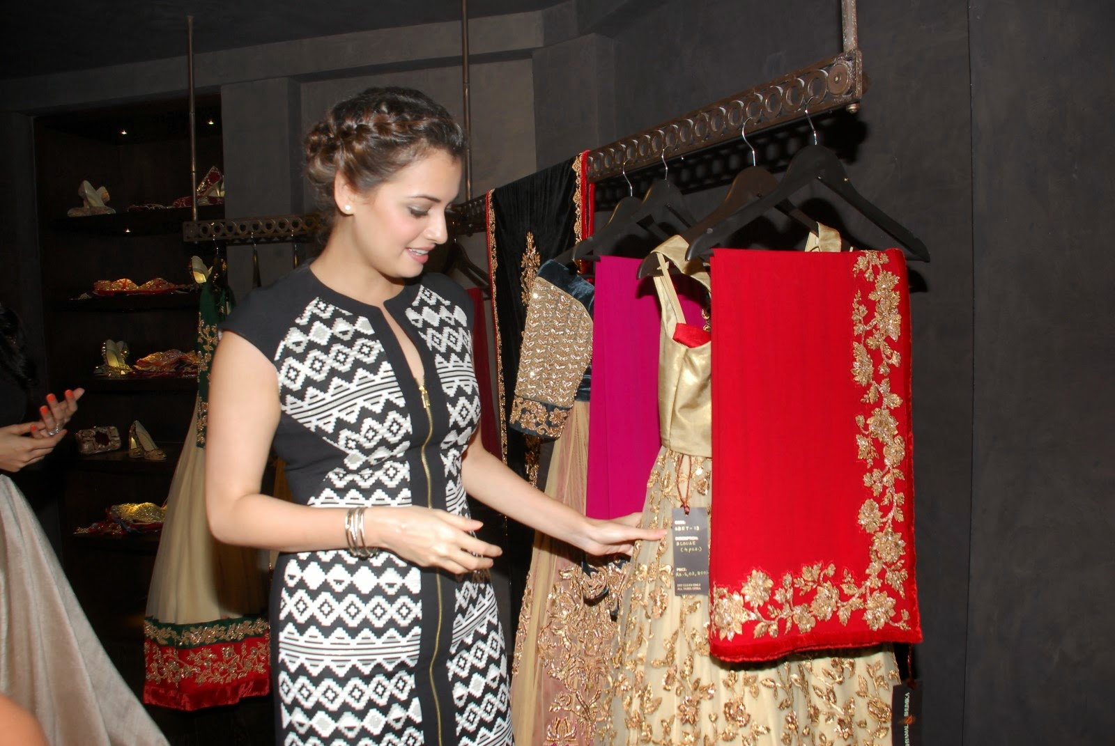 Dia Mirza at Signature Studio Store Launch Stills