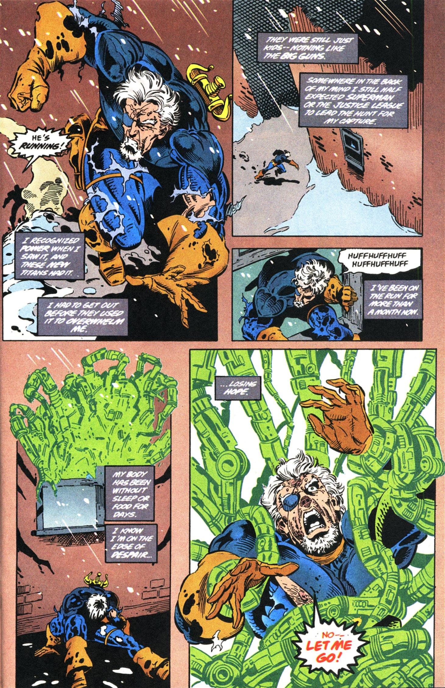 Deathstroke (1991) Issue #45 #50 - English 21