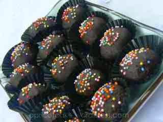 resep membuat kue kacang tanah coklat