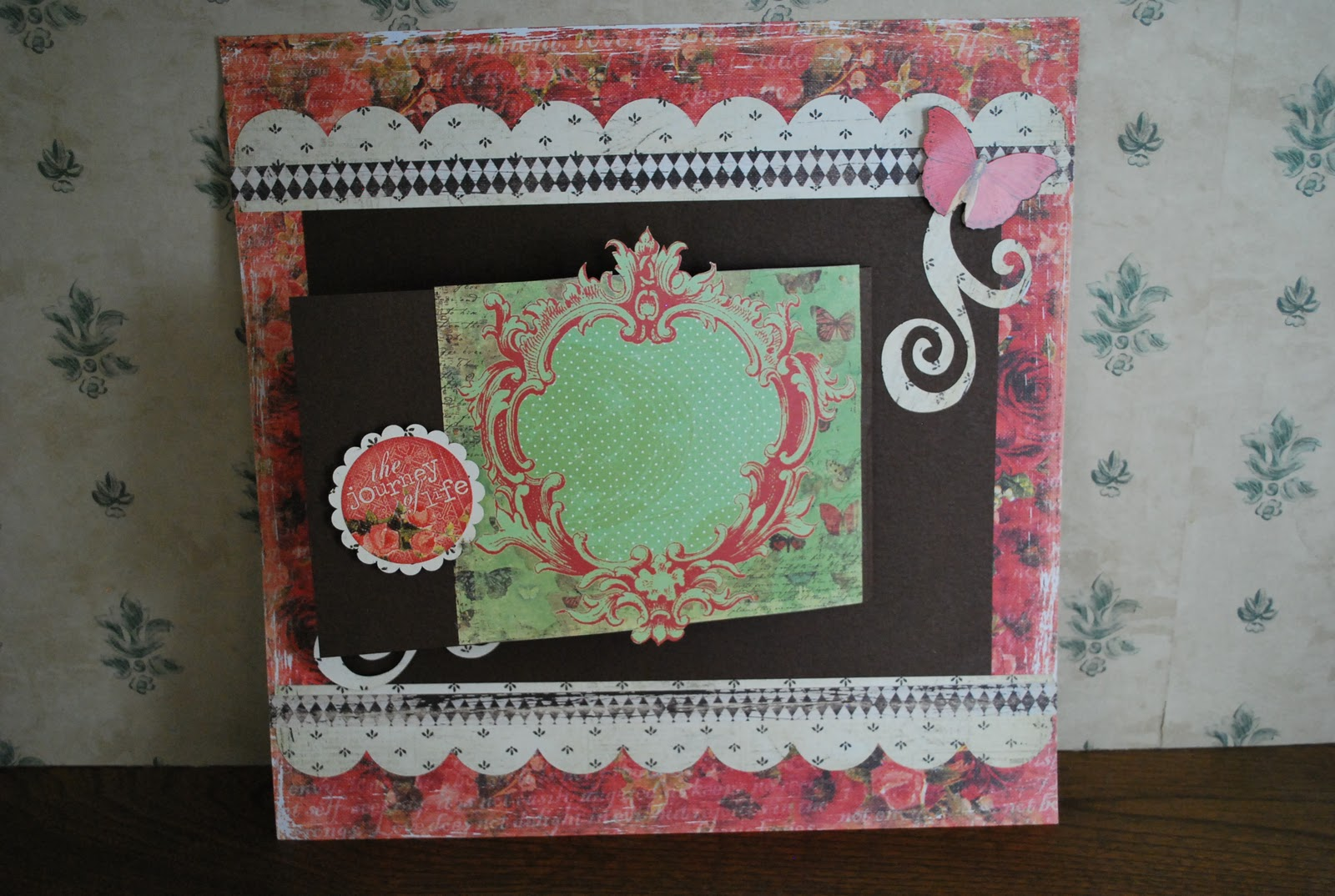 Scrapbook ideas pop up - I Just Recently Took A Class On Pop Up Scrapbook Pages We Did A Double Page Layout Using The Sizzix Pop Up Dies Designed By Karen Burniston She Also
