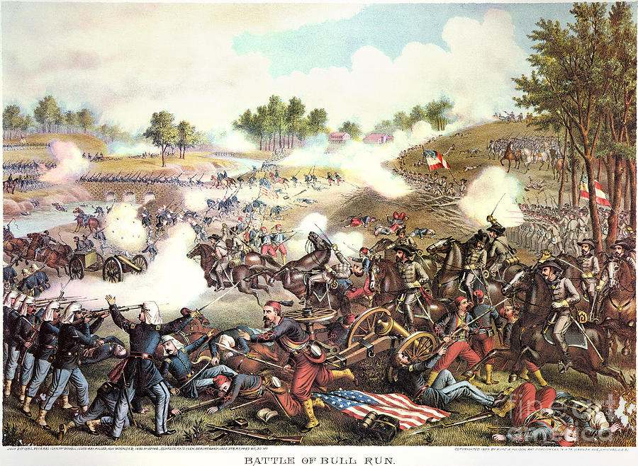 ONCE A CIVIL WAR: July 21, 1861---The First Battle of Bull ...