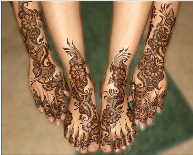 Designs for foot bridal new mehndi pictures for diwali special