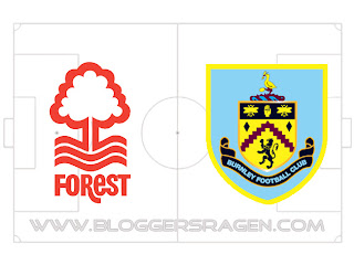 Pertandingan Burnley vs Nottingham Forest
