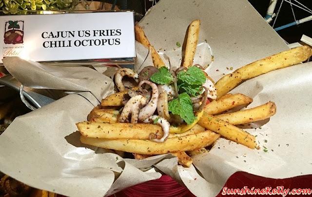 US Potato Culinary Festival Kuala Lumpur 2015, US Potato, Sheraton Imperial Hotel, Kuala Lumpur, Cajun US Fries Chili Octopus, Secret of Lousiana