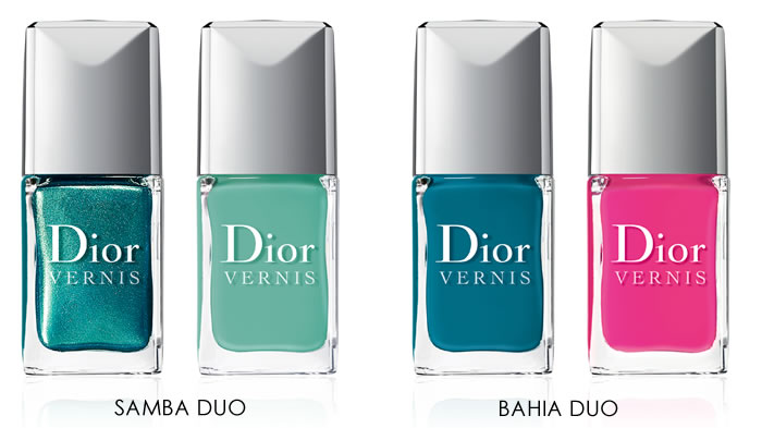 Bird of Paradise Vernis by Dior Duos (Summer 2013)