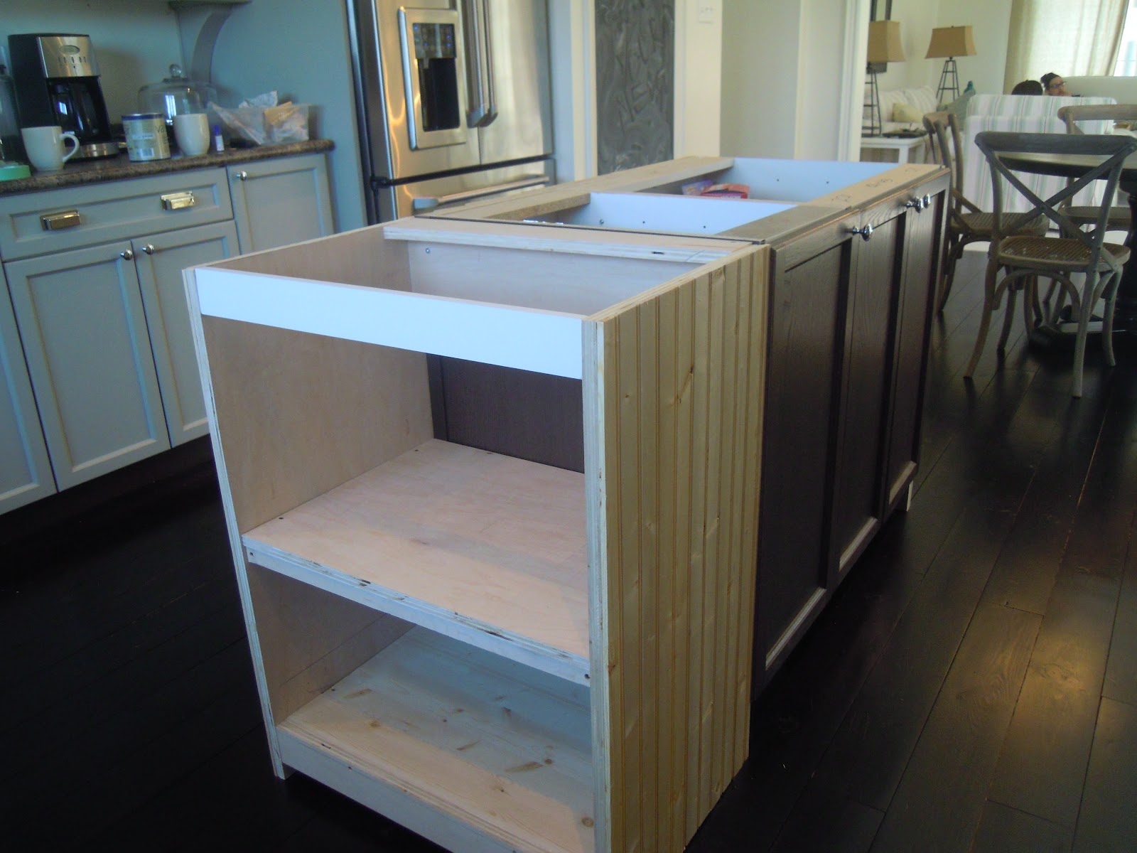 DIY Kitchen Island Extension