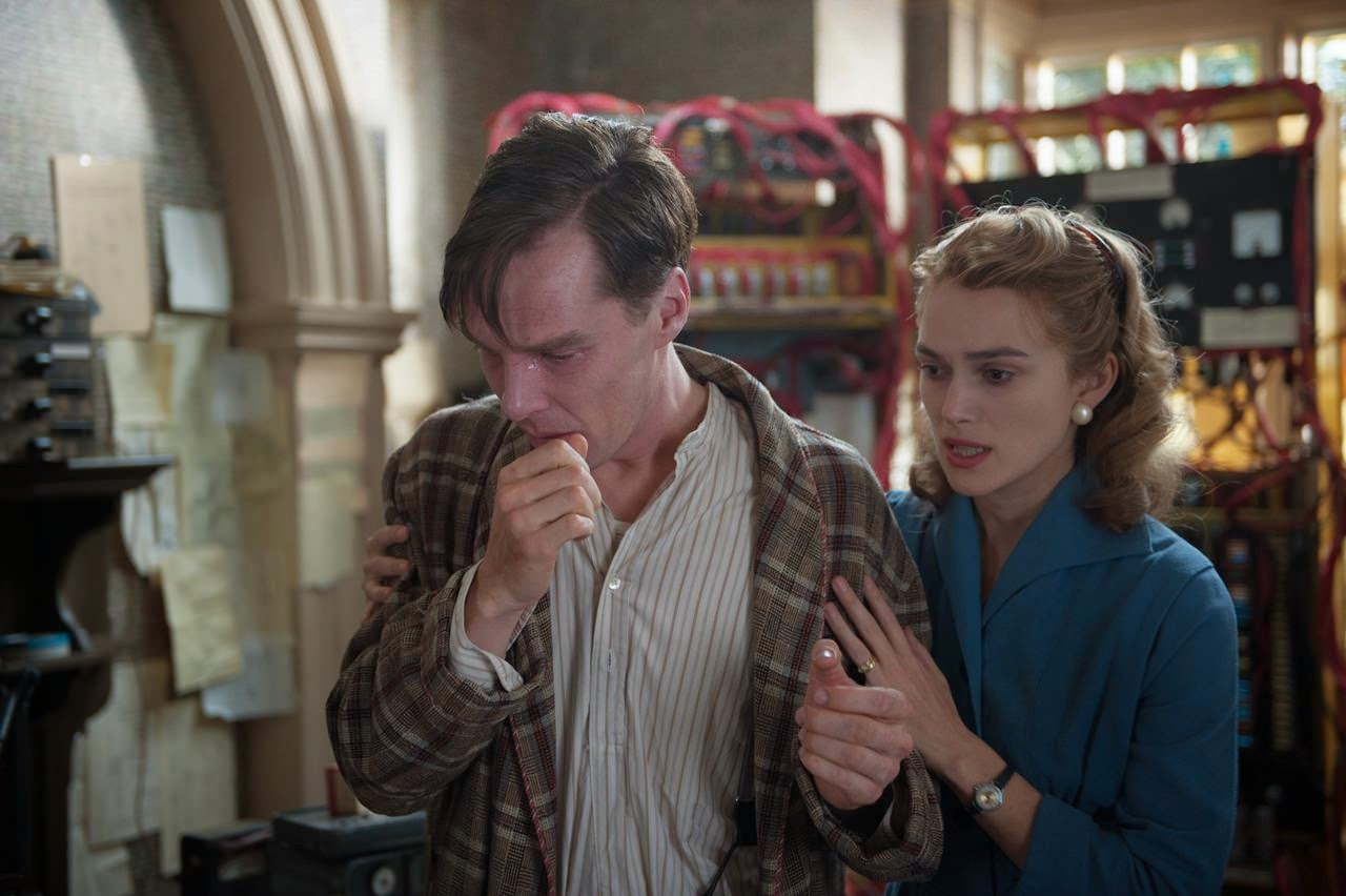 the imitation game-benedict cumberbatch-keira knightley