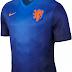 Nike divulga camisa reserva da Holanda para a Copa do Mundo