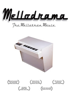 Cartula del DVD Mellodrama: The Mellotron Movie (2010), dirigido por Dianna Dilworth