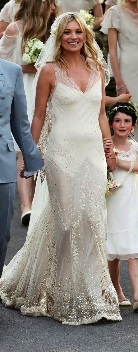vestidos de novia boda Kate Moss hermanas bolena