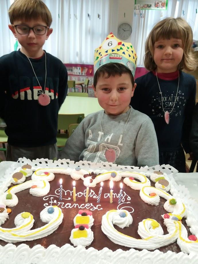 En Francesc ja té 6 anys!!