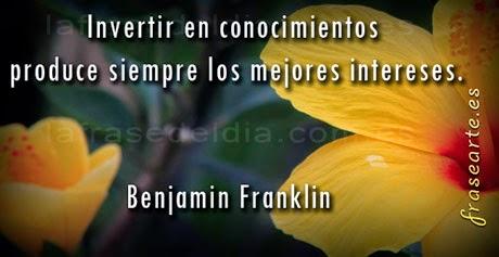 frases famosas de Benjamin Franklin