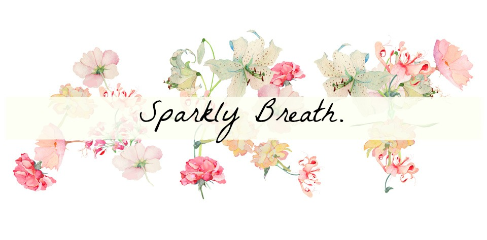 Sparkly breath