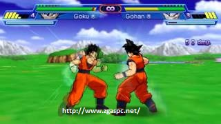 Free Download Games dragon ball z shin budokai psp for pc Full Version ZGASPC