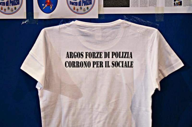 MAGLIA ARGOS RUNNER TEAM FORZE DI POLIZIA