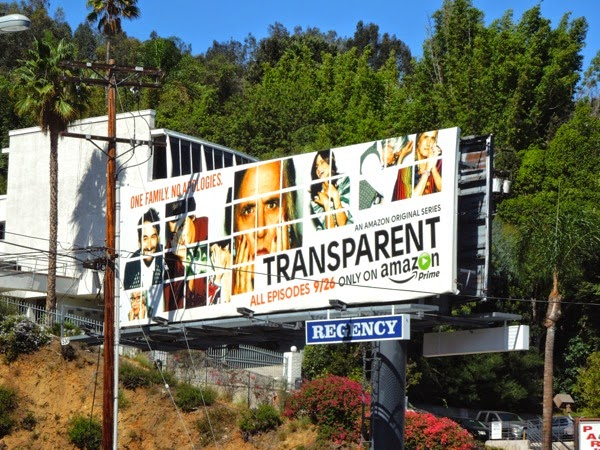 Transparent series premiere Amazon billboard