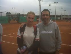 amb Svetlana KUZNETZOVA a l'Academia Sánchez-Casal