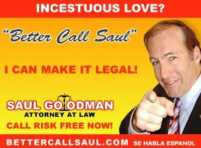 Uno de los anuncios del personaje de Breaking Bad, Saul Goodman