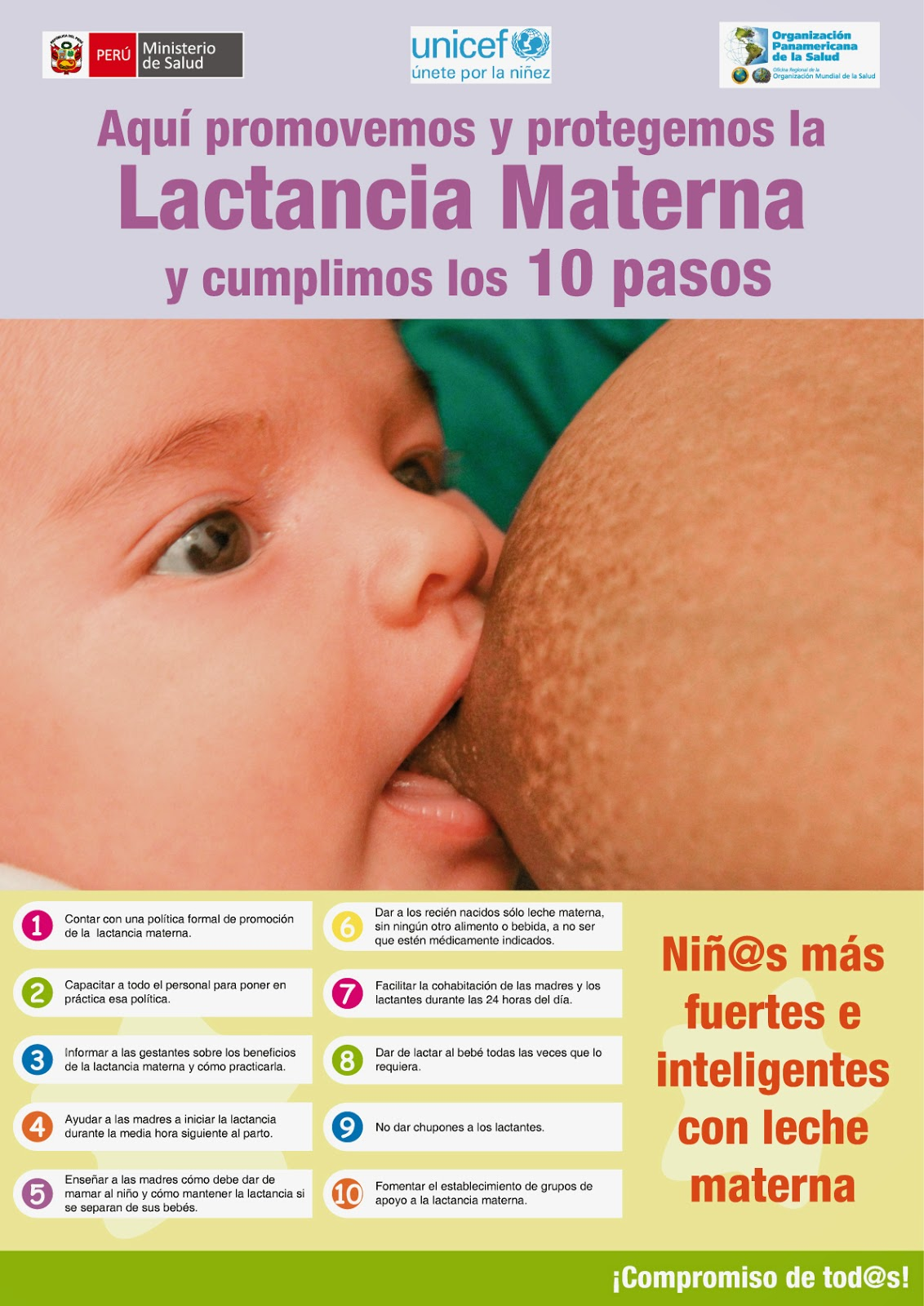 Asegur ndonos la lactancia materna podr a salvar la vida de su bebe - Alimentos para producir leche materna ...