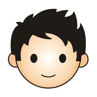 Smily face boy