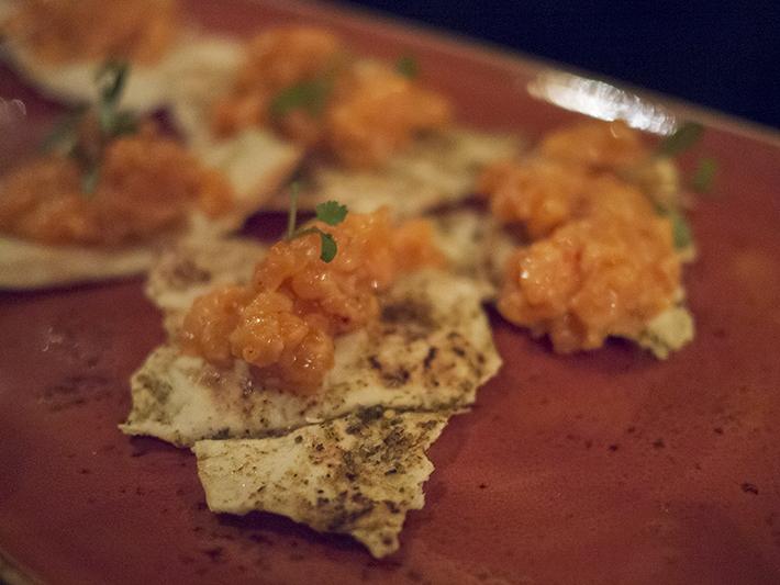 Le Menar London restaurant North African Moroccan food soho fitzrovia salmon tartare