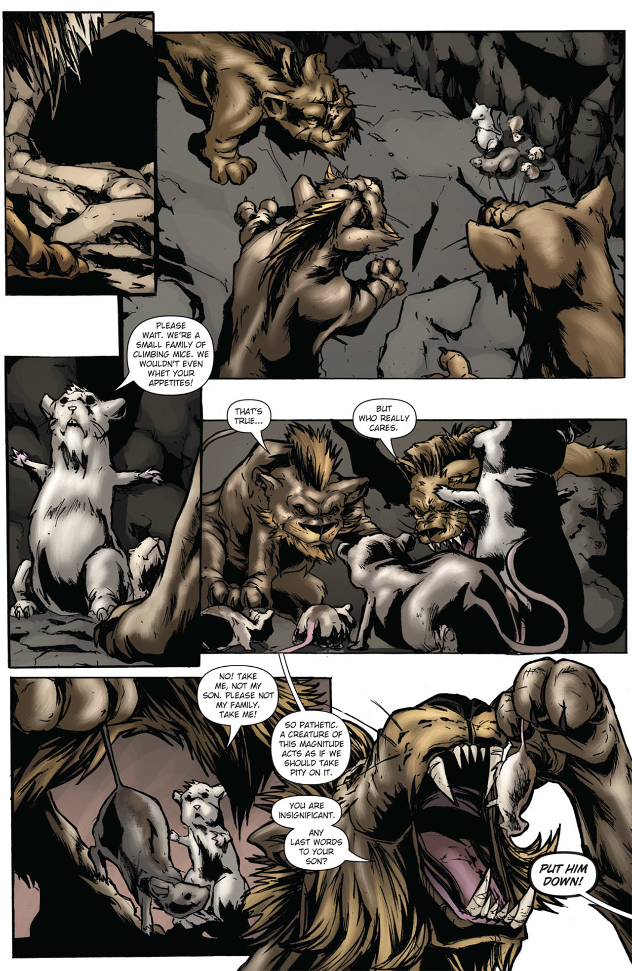Grimm Fairy Tales (2005) Issue #38 #41 - English 17