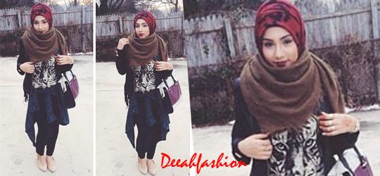 Trend Baju Muslim Musim Dingin Winter