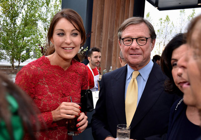 Michael Ovitz and Tamara Mellon